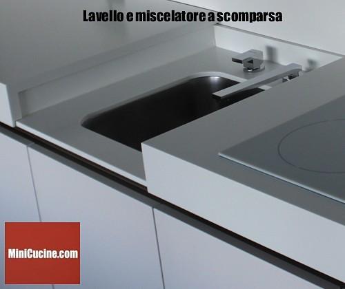 Cucine moderne e funzionali: il blocco cucina con piano scorrevole ...