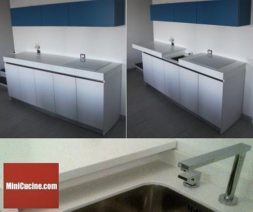 Cucine moderne e funzionali il blocco cucina con piano - Piano cucina in corian prezzi ...