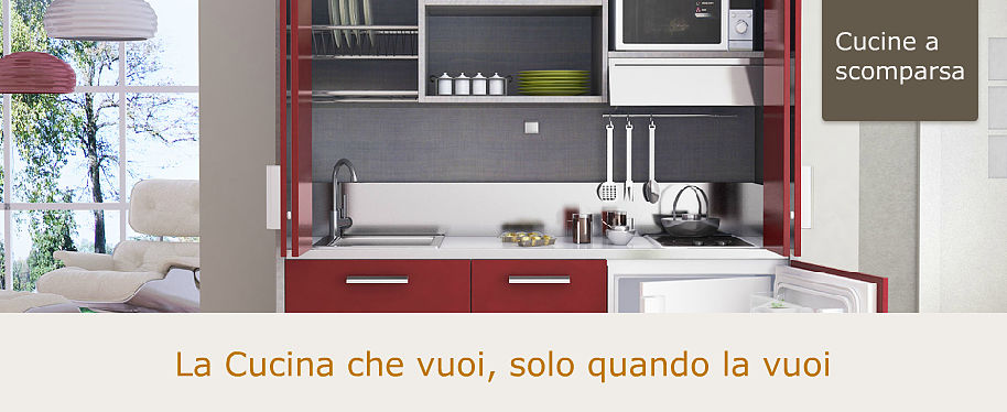Cucine A Scomparsa Per Monolocali ~ duylinh for